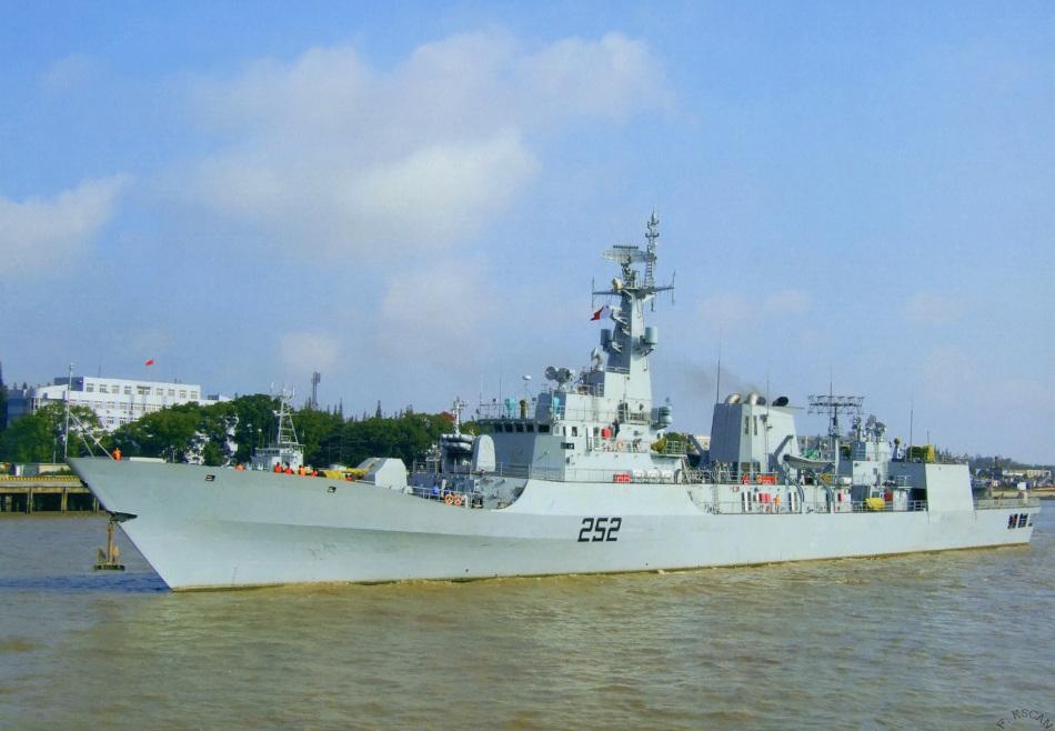 此前巴基斯坦曾向中国引进4艘F22P导弹护卫舰