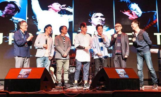 这支曾拿金像奖的乐队将巡演 谢霆锋郑秀文送祝福