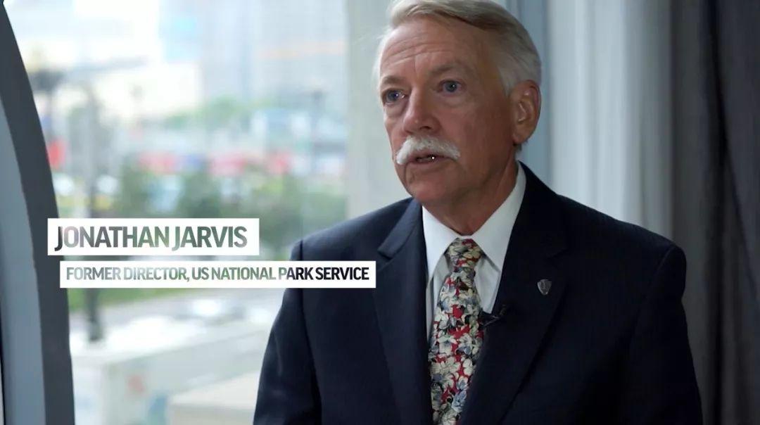 ▲美国国家公园管理局前局长贾维斯(报道截图)