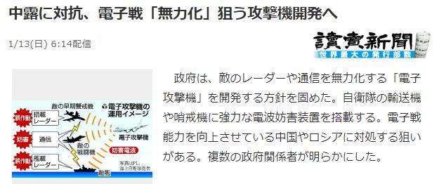 日本决心研制一种电子攻击者,使敌人的雷达设备失效-皇家国际