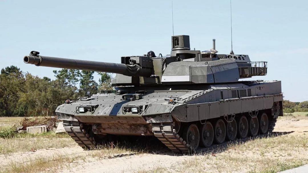 ▲欧洲新一代主战坦克EMBT