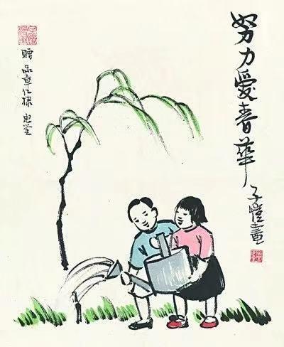豐子愷先生今天120歲了,謝謝你畫裡的詩意和天真 影視 第11張