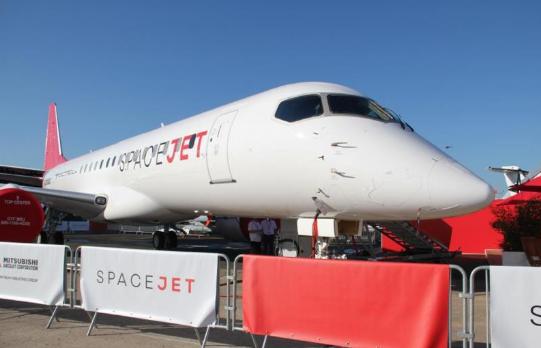 """正在研发中心的""""SpaceJet""""(日刊工业新闻网)"""