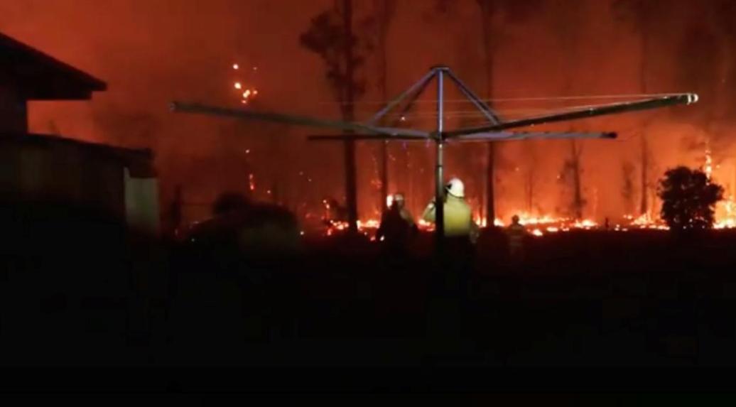 澳大利亚大火持续肆虐(图源:路透社)