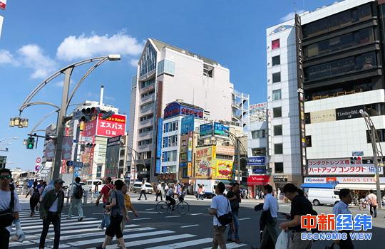 日本城市 中新经纬 常涛 摄