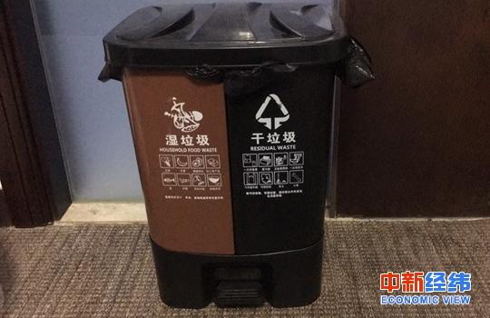 原料图:垃圾分类。中新经纬 张猛 摄