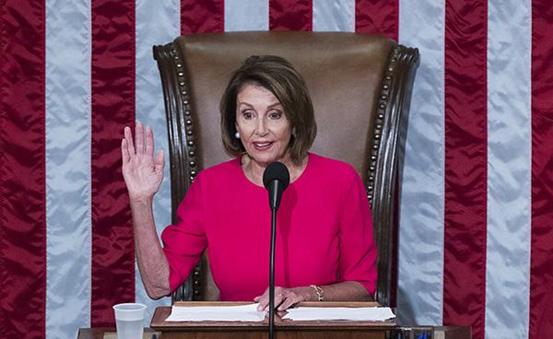 众议院议长南希·佩洛西