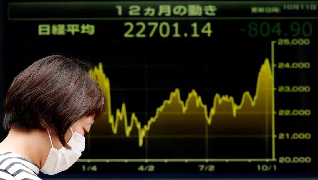 """""""股灾""""再现?美股昨日惨遭血洗 全球股市接力暴跌的照片 - 6"""