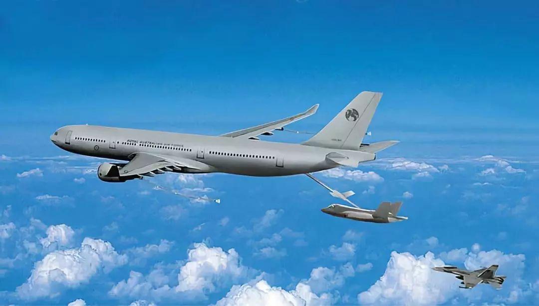 ▲空客A330众用途添油运输机(MRTT)想像图