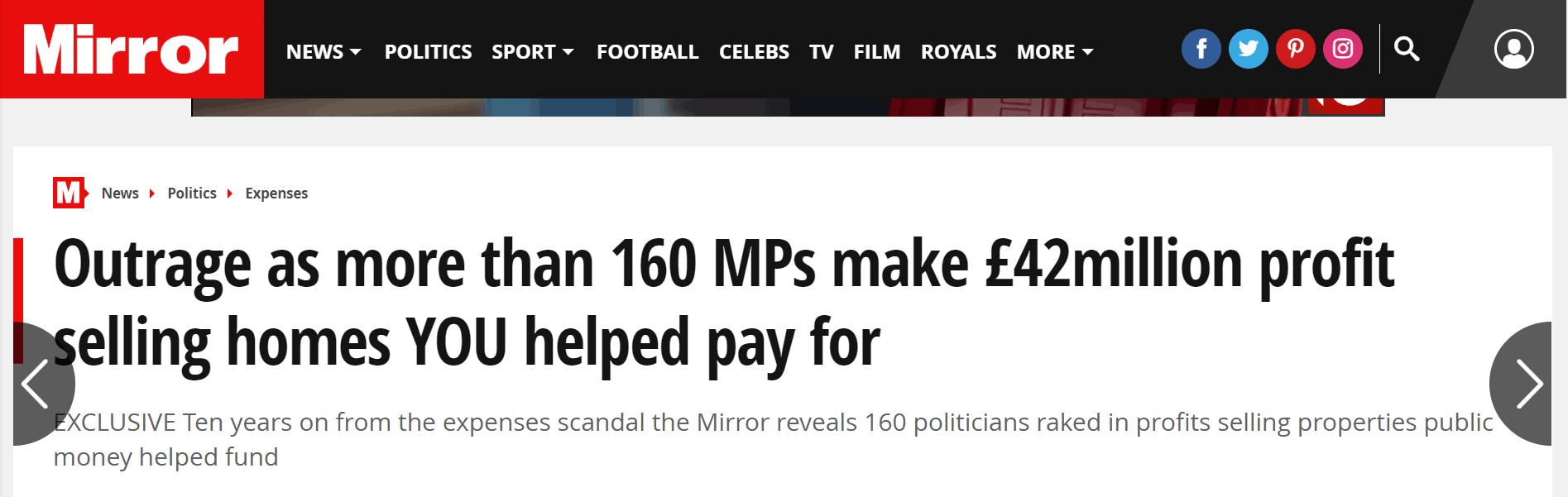 脱欧不行赚钱倒很行?英议员通过出售房产获利数百万|昆仑国际外汇平台