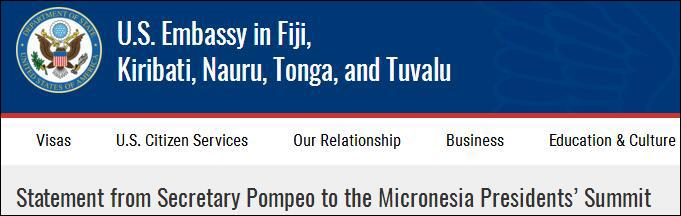 图片来自美国驻瑙鲁大使馆网站