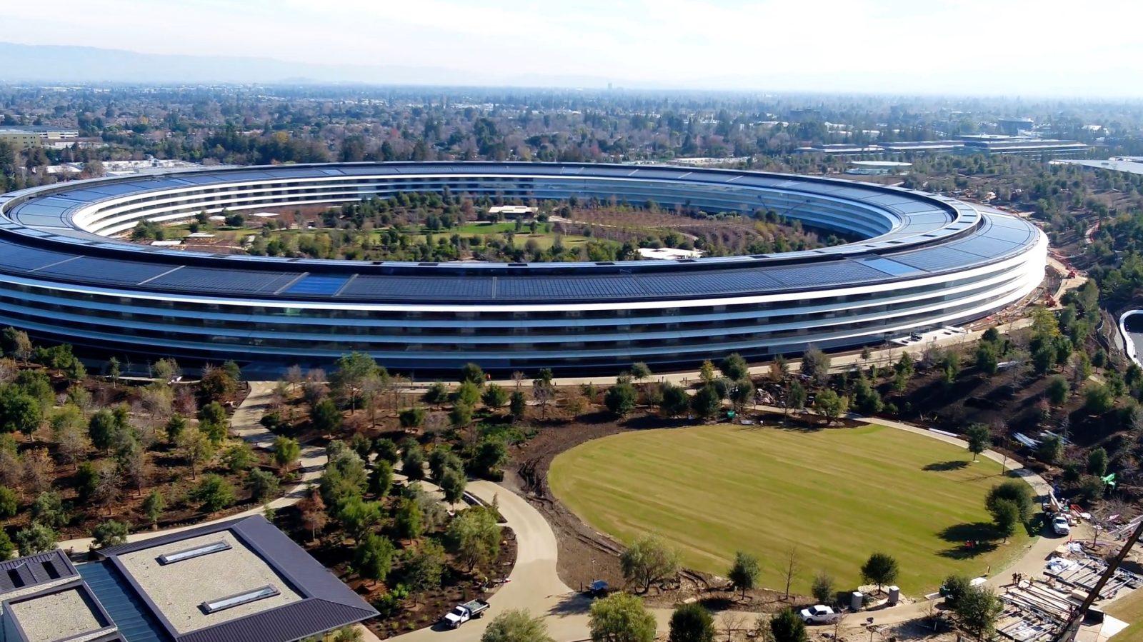 苹果新大楼 来源:苹果信息网站9to5Mac