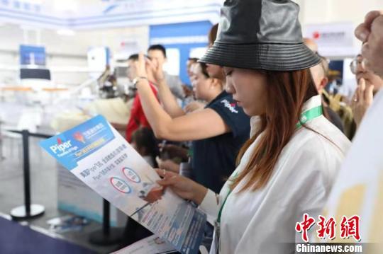 2019四川国际航空航天展览会现场。钟欣 摄