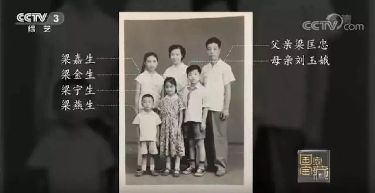 梁金生一家五代都曾在故宫工作。视频截图