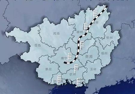 广西铁路高清地图全图
