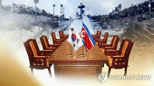 """资料图:朝鲜接受9日在韩朝边界板门店""""和平之家""""举行会谈的提议。(图片来源:韩联社)"""