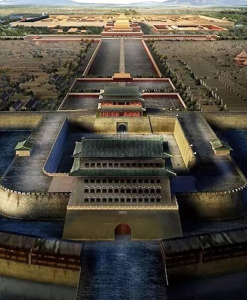 雷献彩参与的摄政王府、北京正阳门等工程