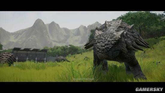 我的世界盾甲龙怎么进化_《侏罗纪世界:进化》新预告 迅猛龙出镜、霸王龙怒吼|侏罗纪 ...