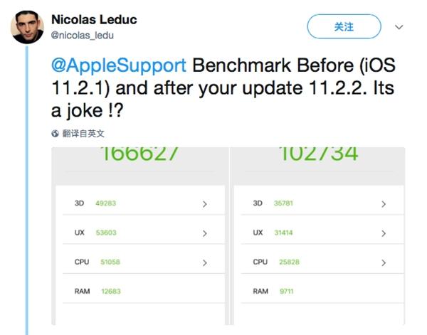 所有iPhone升级iOS 11.2.2后性能出现下降的照片 - 6