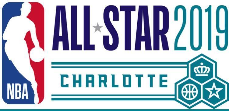 直播吧2月2日訊 2019年全明星將在夏洛特進行,nba今日公布了其標志.圖片