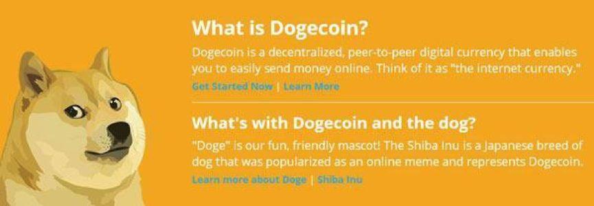 """并非搞笑 价值20亿美元的""""狗狗""""币官方介绍即使如此"""