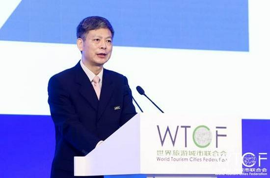 世界旅游城市联合会常务副秘书长李宝春发布《世界旅游城市未来发展议程(2021-2030)》
