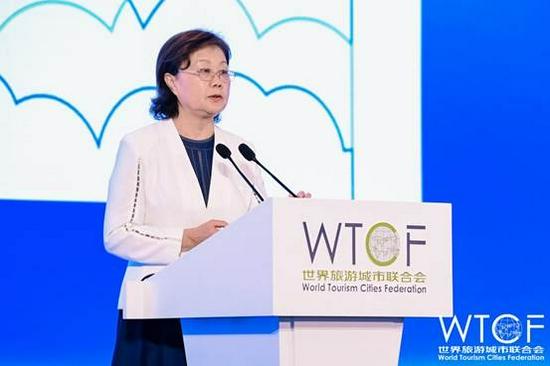 世界旅游城市联合会专家、原国家旅游局副局长杜一力发布《世界旅游城市发展报告(2020)》