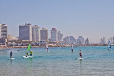 無論冬夏,以色列的海域永遠向你敞開 (圖片來源:以色列國家旅游部)