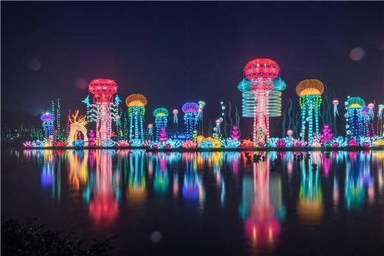 欢乐谷奇幻灯光节·浪漫邂逅(图片来源于网络)