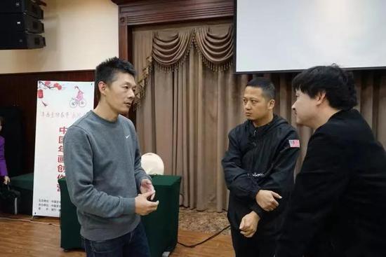 Tag Design创始人设计师孙勇(代表作品:《榫卯》《折扇》APP)与学员交流探讨