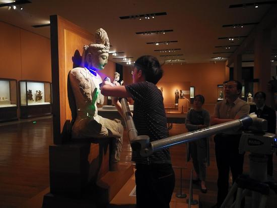 中国国家博物馆保存的天龙山造像三维扫描