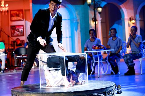 世界级柔术表演《箱子》