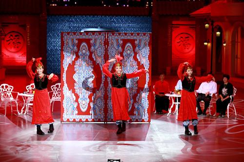 维吾尔族舞蹈表演