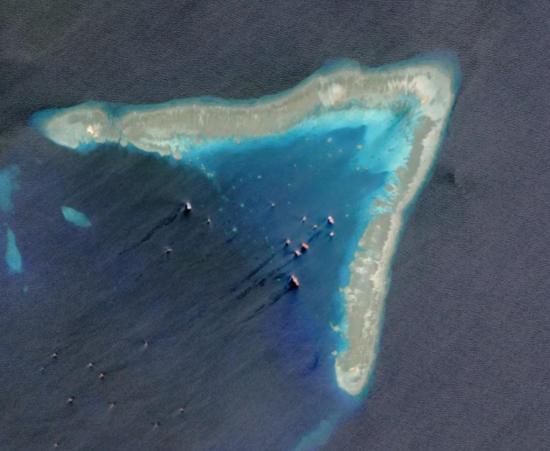 牛轭礁 资料图
