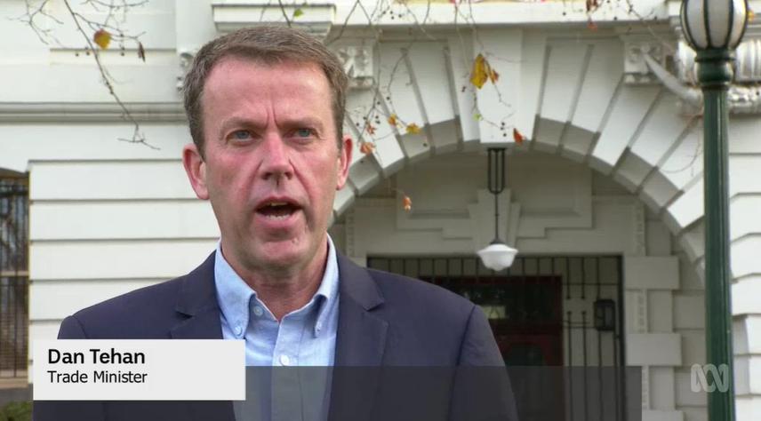 澳政府:将就与中国葡萄酒关税问题向WTO提起申诉