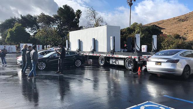 特斯拉推出Supercharger预制模式以加速充电桩部署