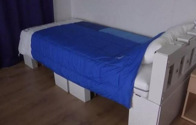 【博狗扑克】老外运动员试验奥运纸床:真结实 无法阻止性生活