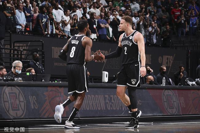 篮网三大角色球员合同到期 新合同估计约600万