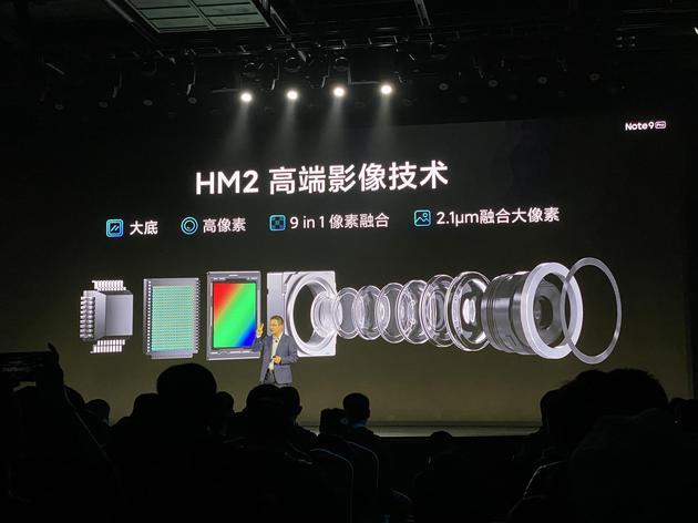Redmi Note 9 Pro首发一亿像素相机传感器三星HM2