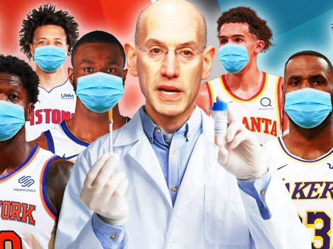 NBA球员匿名吐槽不打疫苗的队友:去各种夜店