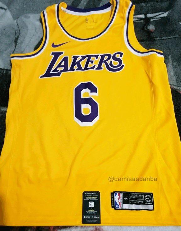 詹姆斯6号球衣成品出炉 下赛季6号詹将重现NBA