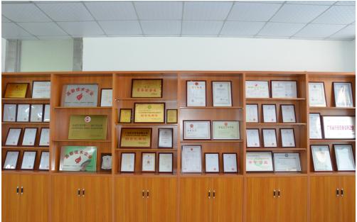 东日环保荣誉墙