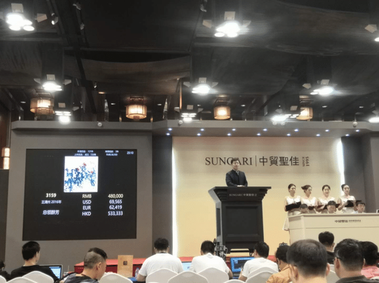 王清州作品拍卖再创个人佳绩!55.2万元成交