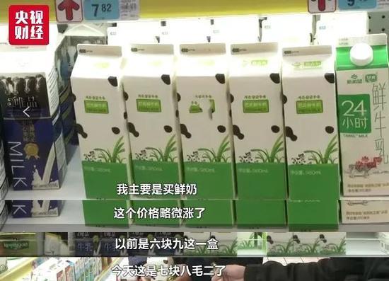近日奶价小幅上涨:原奶收购价格的提升是涨价的主要原因