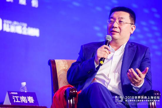 分多传媒董事长江南春