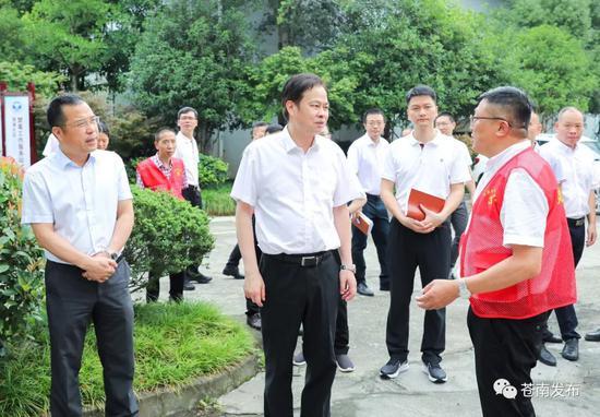 县委书记陈永光督查信访维稳工作