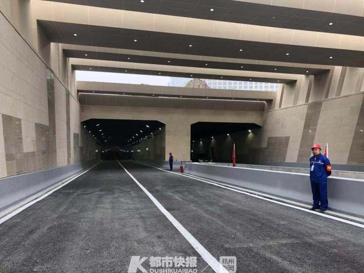 [都市快报]杭州第二条城市过江隧道 年底全面竣工通车(图)